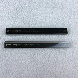 Other - Illamasqua lip liner duo in lunar and media NIB